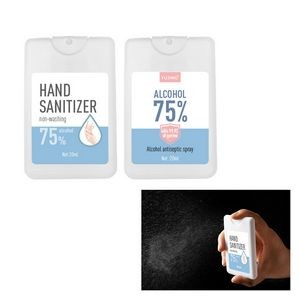 Hand Sanitizer Credit Card Spray
