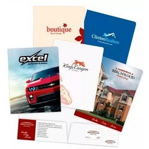 Popular Choice Printed Presentation Folder (1 Color print)