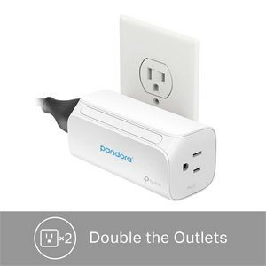 TP-Link Kasa Smart WiFi Plug - 2 Outlets