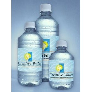 8 Oz. Personalized Bottled Water