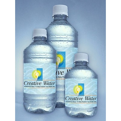 8 Oz. Lite Personalized Bottled Water w/Pallet Pricing