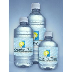 16.9 Oz. Personalized Bottled Water